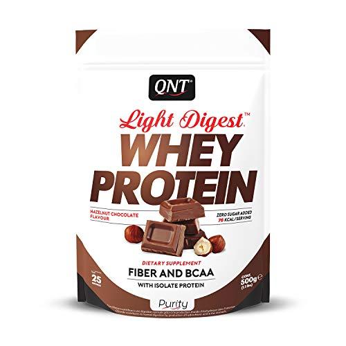 QNT Light Digest Whey Protein Cioccolato nocciola 500g