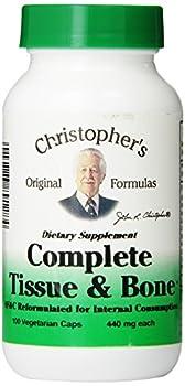 Dr Christopher s Original Formulas Complete Tissue and Bone Formula Capsules 100 Count 440mg Each