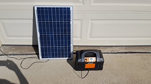 Solar Generator Plug N Play Kit with Kisae Powerpack 800 By Offgridsolargenerators W New 25ft Wire