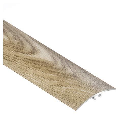 Barre de seuil en alu couleur chêne 40 X 900 mm Beige