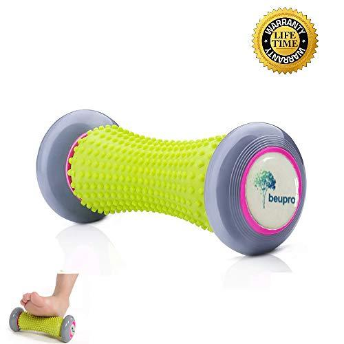 Beupro Muskel Roller Stick Hand und Fuß Massage Roller faszien Rolle fussroller Massage Stick Handgelenke und Unterarme Übungsroller Recovery Tool für Plantar Fasciitis