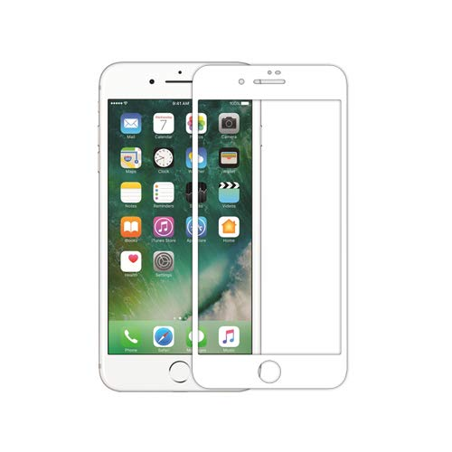 """Nillkin Tempered Glass for Apple iPhone 7 Plus (5.5"""" Inch) 3D XD CP+ Max Glass 0.1mm Thin Edge Shaterproof Full Screen Coverage Explosion Proof Screen Protect White Color"""
