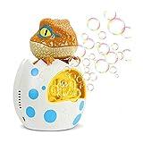 XTZJ Dinosaur Bubble Machine: Blower automatico della bolla, bolla portatile per bambini con 1000+ bolla / min, bolla macchina per bambini e bambini piccoli, giocattoli di bolle per la festa di comple