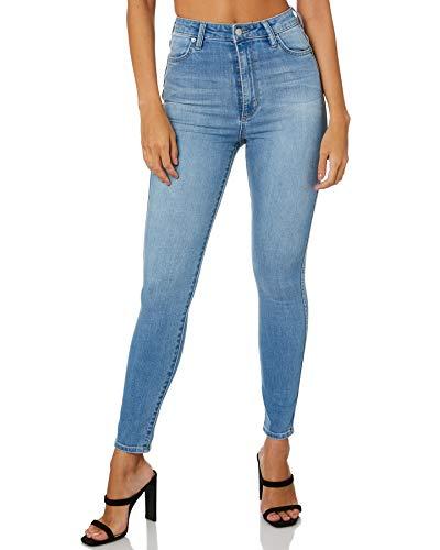 Riders by Lee Women's Skinny Jeans, Lennon Blue, 29 Regular US