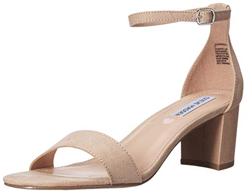 Steve Madden Girls' JCARRSON Heeled Sandal, Blush, 4 M US Big Kid