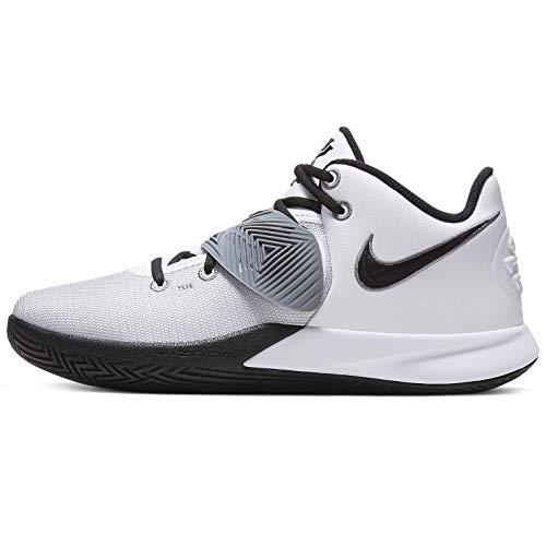 Nike Kyrie Flytrap Iii Herren Basketballschuhe Bq3060-103, Weiá (Weiß/Schwarz/Cool Grey), 44 EU