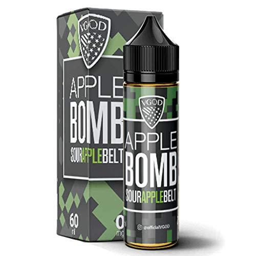 VGOD e-Liquid Flavour Shake-and-Vape für Ihre e-Zigarette 0.0 mg Nikotin Liquid Short Files (Apple Bomb) + 10ml Flasche KitMaster® Zufallsgeschmack ohne Nikotin