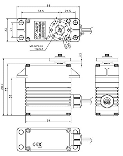 138105 - Multiplex Servo HS-1005SGT