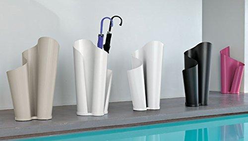 Tonin Casa Portaombrelli Narciso 7490 - Colore: Metallo verniciato Bianco opaco (01)