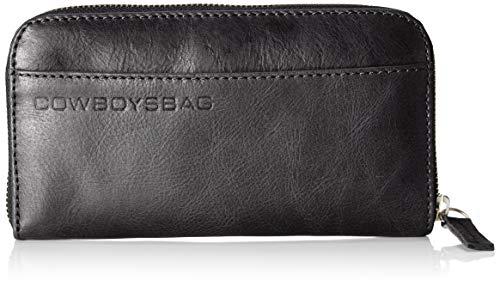Cowboysbag Damen The Purse Geldbörse, Schwarz (Black), 1x1x1 cm