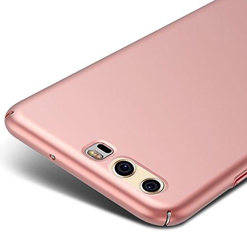 Oro Rosa Ultra Sottile Custodia Cover Case + Pellicola Protettiva Per Huawei P10 5,1 pollici Vooway® MS70300