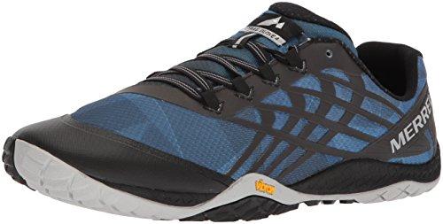 Merrell Trail Glove 4, Zapatillas para Hombre, Mar de Bering, 46.5 EU