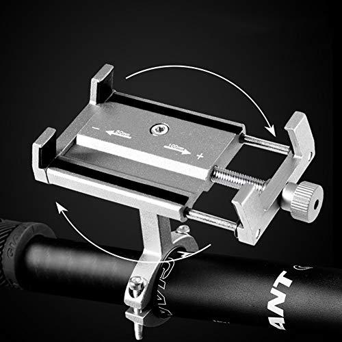RMPH-mobiele telefoonhouder aluminiumlegering fiets telefoonhouder met draaibaar instelbaar uitbreiding mobiele wegen voor fiets driewieler motorfiets scooter