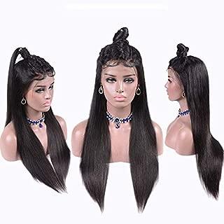 Confidence Human Hair Wig For Women Straight Hair ((Dark Brown)