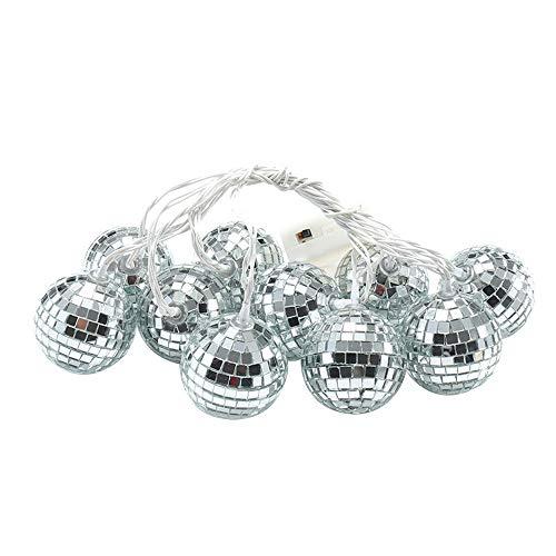 Hahuha LED-Licht, Lichterketten Marokkanischer Ball 10 / 20LED Globe Fairy String Orb Lantern Patio, Wohnkultur Dekoartikel Wohnaccessoires Accessoires