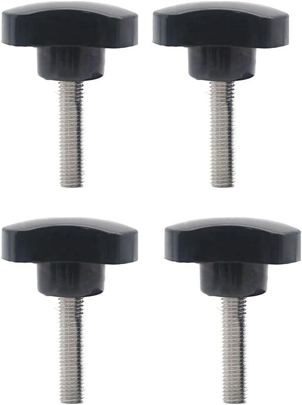 Thumb Screws Clamping Screw Knob Star Knobs M4 x 20mm Bakelite T