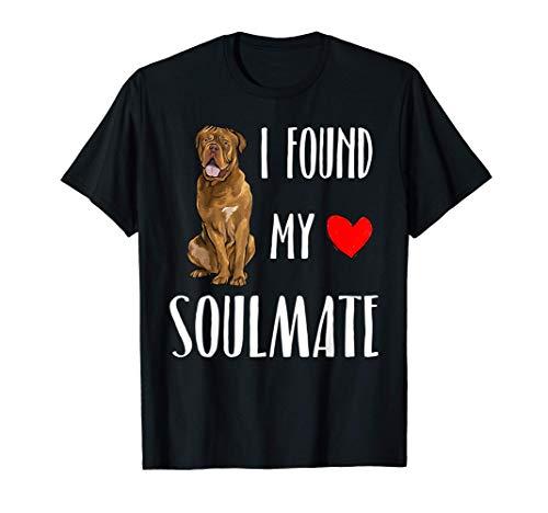 Encontré mi Alma Gemela Dogo De Burdeos Camiseta
