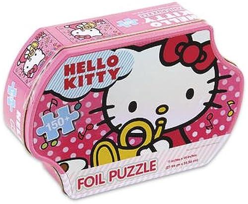 marcas de moda Sanrio Hello Kitty Foil Puzzle with Hello Kitty Tin Box Box Box by Sarnio by Sarnio  grandes precios de descuento