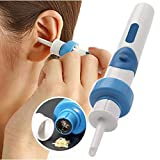 Protable Vacuum Ear Cleaner Machine Electronic Cleaning Ear Wax Removes Earpick Cleaner Prevent Ear-Pick Clean Tools Care 5PCS