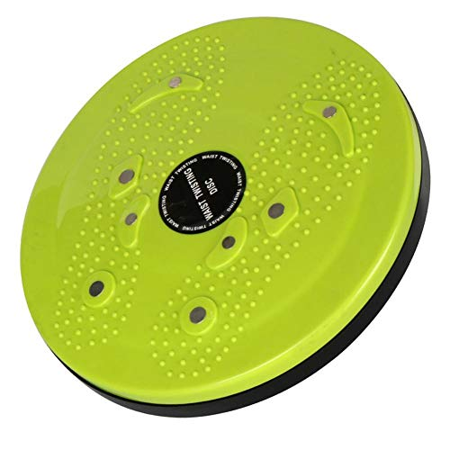 Great Price! Trilanvin Brand Twisted Board-Rotating Disc for Fitness and Exercise-Green Red Purple -...