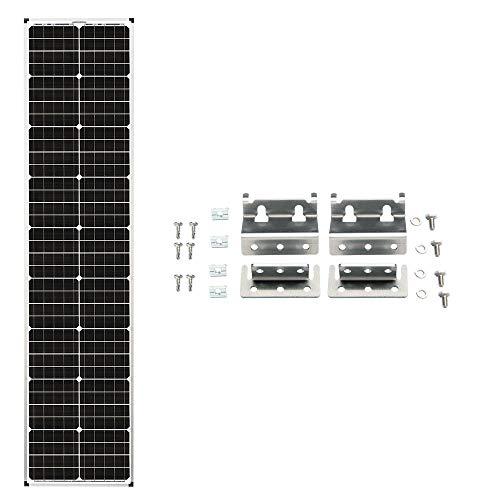 "Zamp Solar Legacy Series 90-Watt ""Long"" Roof Mount Solar Panel Expansion Kit..."