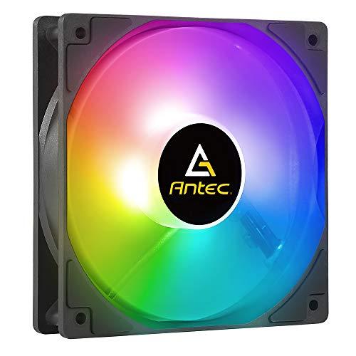 Antec Ventiladores RGB, ventilador RGB de 120 mm, ventilador de caja de alto rendimiento, RGB de 4 pines, serie P12