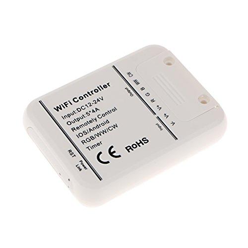 Wifi Remote Controller Steuerung Fernbedienung für IOS Android LED RGB WW CW Streifen