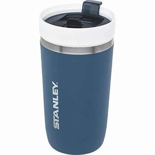 Stanley GO Ceramivac Thermo-Trinkbecher mit Keramik-Beschichtung, 0.47 L, Doppelwandig, Vakuumisoliert, Deckel verschließbar, Thermobecher Isolierbecher Kaffeebecher