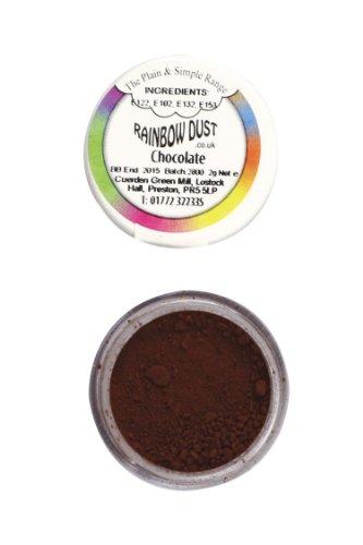 Rainbow Dust Essbare Puderfarben Lebensmittelfarbe, Fondant, Puder Chocolate