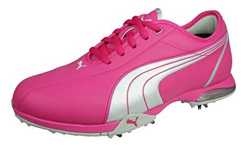 PUMA PG Royal Tee Damen Golfschuhe-Pink-40.5