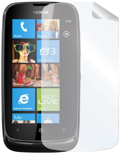 Celly Nokia Lumia 610 - Juego de 2 protectores de pantalla para...