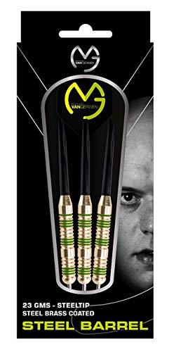 XQmax MVG 3er Dart-Set Michael Van Gerwen, messingbeschichtete Barrel, 23 Gramm