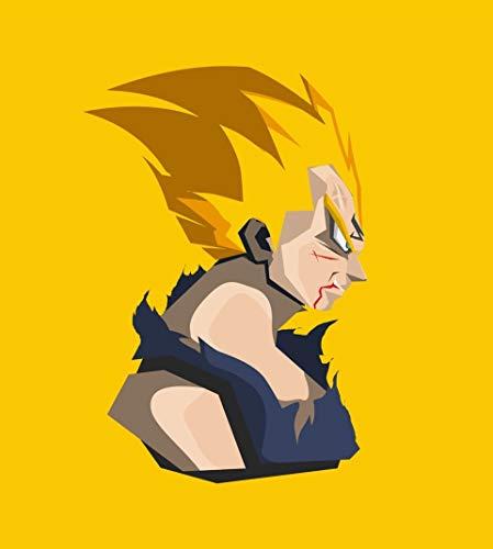mmzki Dragon Ball Z Goku Varios Juegos Película Personaje de Dibujos Animados Avatar de Dibujos Animados Familia Decoración Pintura Cartel Arte de la Pared 60X100CM