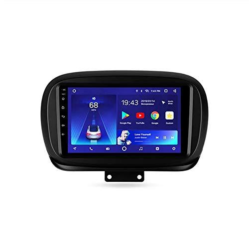 WY-CAR per Fiat 500X 2014-2020 Autoradio Navigazione GPS Auto Android 8.1 Multimedia Schermo DSP Touch Capacitivo Supporto BT Radio FM MA RDS Dab Chiamate in Vivavoce MP5 SWC