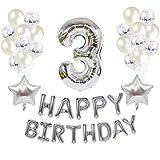 XUZHUO 36 unids/Set de Globos de cumpleaños para niños, decoración de Fiesta de Feliz cumpleaños, decoración de Baby Shower, Bola de Aire