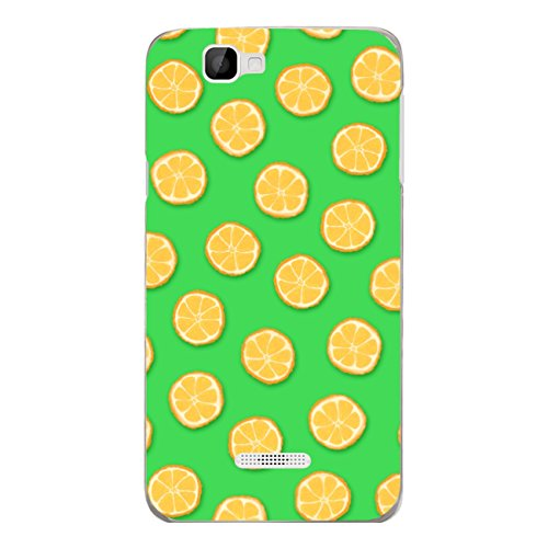 Disagu SF-sdi-4368_1074#zub_cc6078 - Carcasa para Wiko Rainbow 4G, diseño de Flores, Color Naranja y Verde