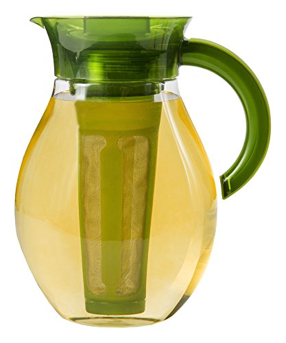Primula The Big Iced Tea Maker Infusion Brewer Large Capacity Beverage Pitcher 1 Gallon Green