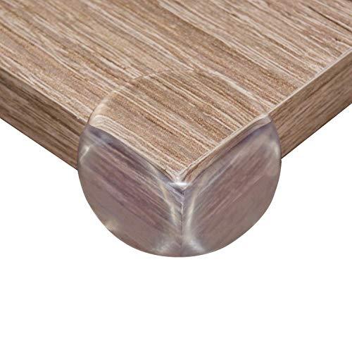 BABYBYLU® Eckenschutz [12 Stück] Transparent und starker Kleber, Baby Kantenschutz für Ecken von Tischen und Möbeln - Eckenschützer für Kinder