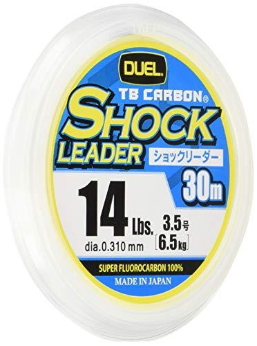 DUEL(デュエル) フロロライン 14Lbs. TBカーボン ショックリーダー 30m 14Lbs ナチュラルクリアー H3556