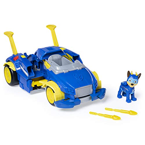 Paw Patrol, Mighty Pups Super Paws, Chase 's Powered Up Cruiser., Azul