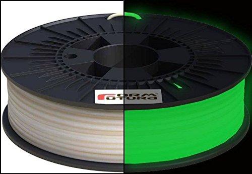 Formfutura, Easyfil in ABS, filamento per stampante 3D da 1,75mm, verde fosforescente al buio