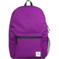 High Quality Ergonomic super padded with strong adjustable back straps. Stylish Design with large main compartment and front pockets; allows for maximum storage of books, folders and much more. Multipurpose Daypack use not only for school, but for tr...