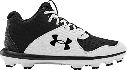 [アンダーアーマー] メンズ ベースボールシューズ Harper 4 Low ST Baseball Shoes 野球 スパイク BLACK/WHITE_29.5 [並行輸入品]