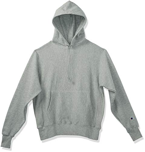 Champion LIFE Men's Reverse Weave Pullover Hoodie, Oxford Gray, S