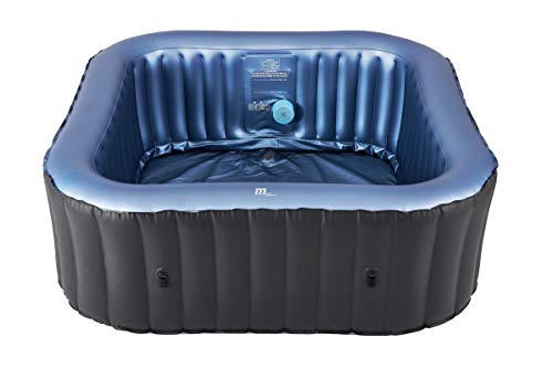 MSpa C-TE061 Tekapo (2021 Model) 6 Person Portable Square Hot Tub Bubble Spa Inflatable