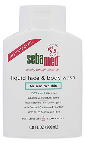 Sebamed Face and Body Wash, 6.8 Fluid Ounce Bottle