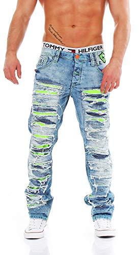 Cipo & Baxx C-1053 Regular Fit Herren Jeans, Hosengröße:W32/L32