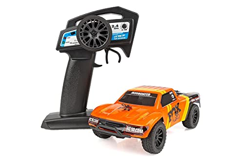 Team Associated 20157 SC28 Fox Factory Edition Micro Short Course Truck Ready to Run Kit, 1/28 Scale, 2WD