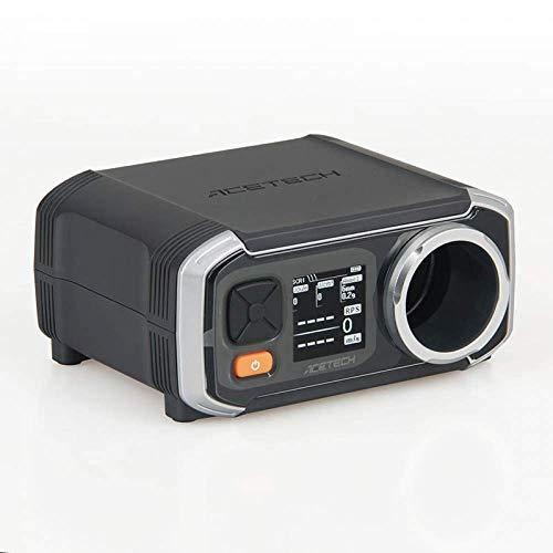 Gmsqj AC6000 Multifunktionaler Geschwindigkeitsmesser Mündungsgeschwindigkeitsmesser Outdoor-Spieler Wasserprojektil-Auswurf-Geschwindigkeitsmesser
