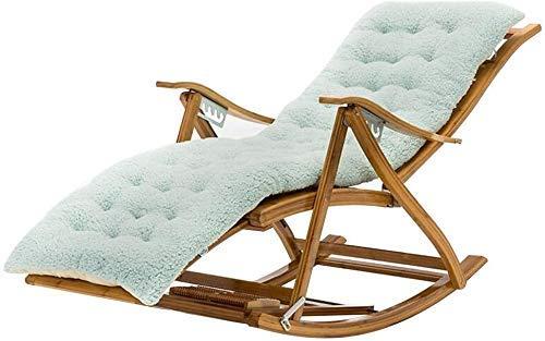 Yuany Chaise fraîche, Chaise à Bascule de Jardin en Plein air, Chaise relaxante, Fauteuil inclinable Extra Large, Fauteuil de Salon, chaises de Plage pour Adultes